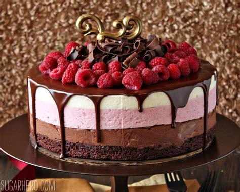 chocolate cake for birthday greetings