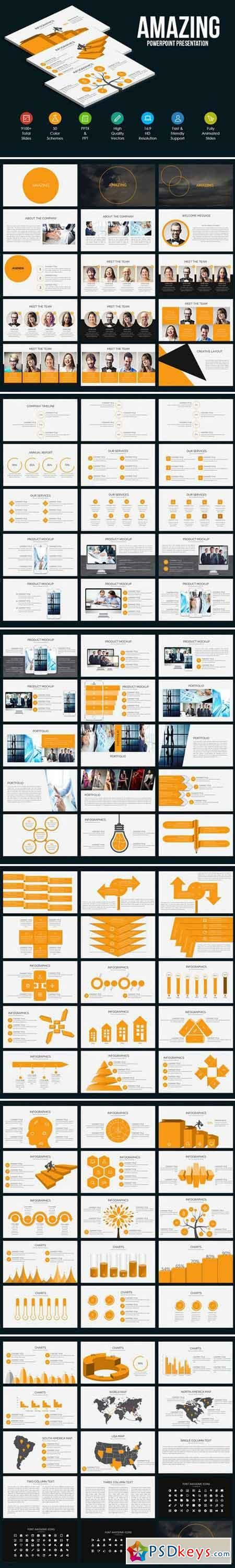 amazing powerpoint template 800433 187 free download