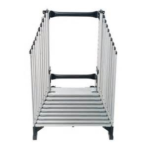 werner aa10 250 pound duty rating televator aluminum universal telescoping attic ladder 10 foot