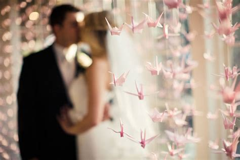 Origami Crane Pictures For Weddings - details we paper cranes