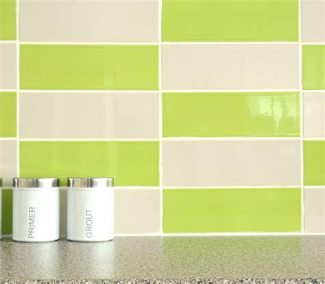 Plaquetas verde amp coco kitchen wall tiles