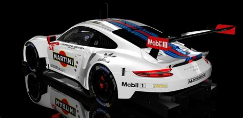 martini porsche rsr 2017 martini porsche 911 rsr skins updates racedepartment