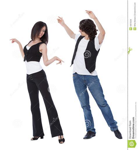 swing dance poses west coast swing dance stock photo image 43075536