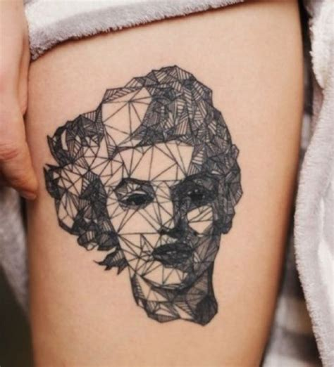 tattoo geometric face 50 geometric tattoos for men and women amazing tattoo ideas