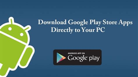 apk files from play store direct to pc