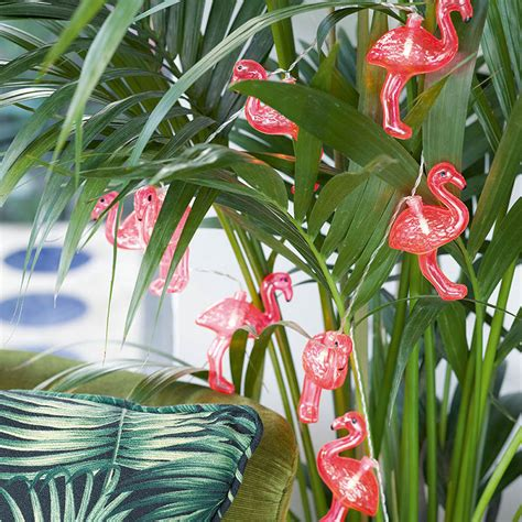 light up garland 1 light up flamingo garland flamingo tropical