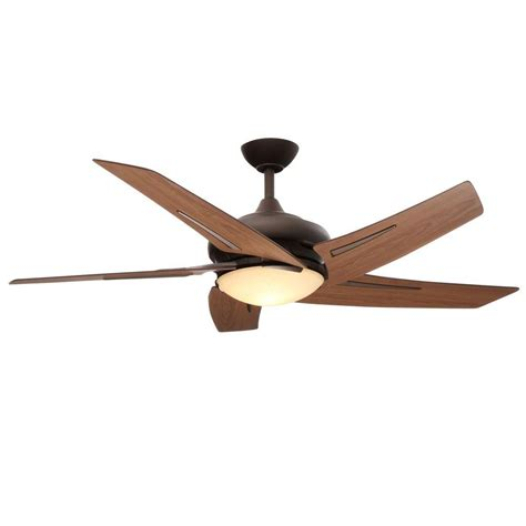 hamilton bay ceiling fan hton bay sidewinder 54 in rubbed bronze ceiling