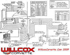 1971 corvette heater and air conditioning wire schematic willcox corvette inc