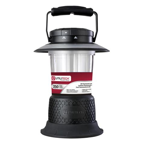 Shop Utilitech 250 Lumen Fluorescent Freestanding Battery Battery Operated Lights Lowes
