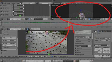 blender tutorial tracking camera quick camera tracking tutorial in blender doodle notes