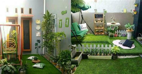 desain taman  rumah minimalis bikin makin kece  asri