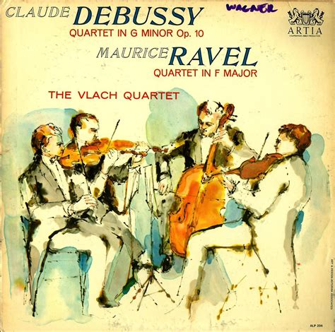 Arts String Quartet - 50 most creative vintage designs for classical records