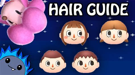 Animal Crossing Hairstyles by Hair Guide Animal Crossing New Leaf