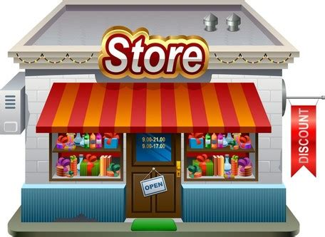 shops clipart clipart collection | cartoon street of