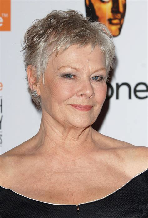 hairstyles for women at age 39 20 short haircuts for women over 50 judi dench bond