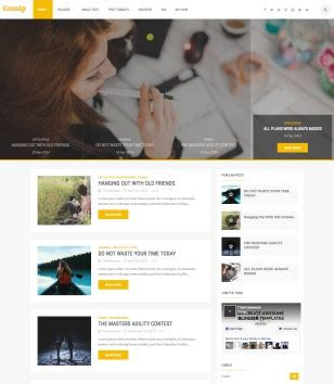 yellow blogger templates 2018 free download