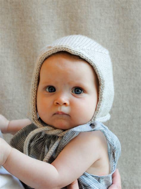 knit baby bonnet baby bonnet purl soho