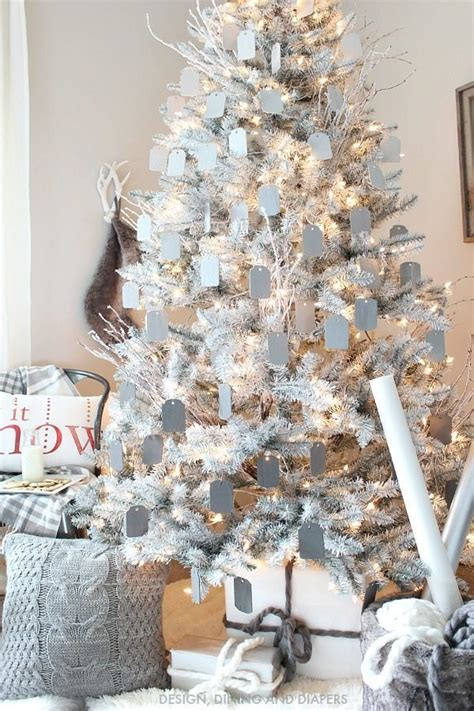 gray and white christmas tree taryn whiteaker