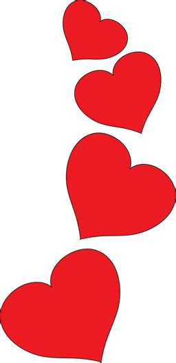 clipart stylish red heart red hearts clipart clipart panda free clipart images
