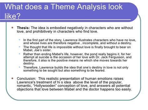 theme analysis essay requirements literary analysis essays djd