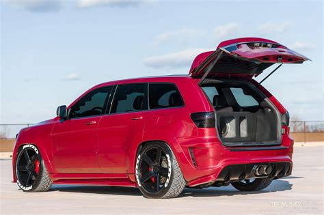 monster jeep grand cherokee 2012 jeep grand cherokee srt8 supercharged monster