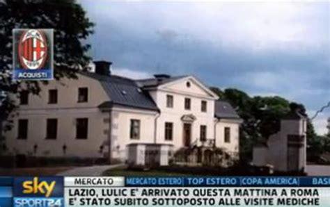 comprare casa in svezia ibrahimovic compra casa mega villa a stoccolma sky sport