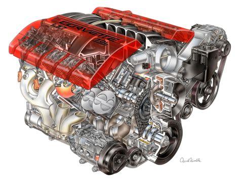 2006 chevrolet corvette z06 ls7 v8 engine cutaway