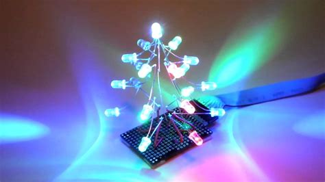 led christmas tree diy youtube