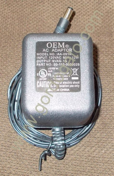 Allied Tellesis Adaptor 15v 1a Oem Aa 091a 9vac 1a Ac Adapter Power Supply Gordogato S