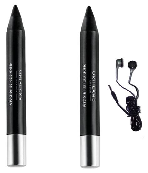 Eyeliner Kajal Oriflame oriflame colour kajal stick black 6 gm pack of 2 buy