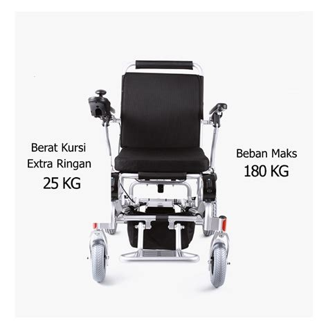 Jual Kursi Roda Lipat Ringan kursi roda listrik elektrik otomatis ringan lipat cocok