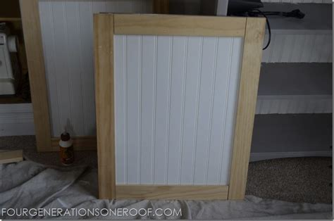 Barn Board Kitchen Cabinets by Diy Built In Barn Doors Tutorial Kitchen Cabinet Doors