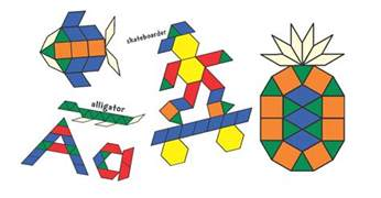pattern block templates from s corner of cyberspace