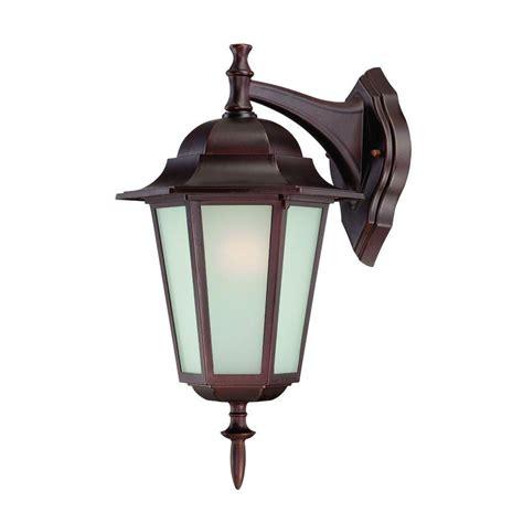 Architectural Outdoor Lighting Fixtures Acclaim Lighting Camelot Collection 1 Light Architectural Bronze Outdoor Wall Mount Light