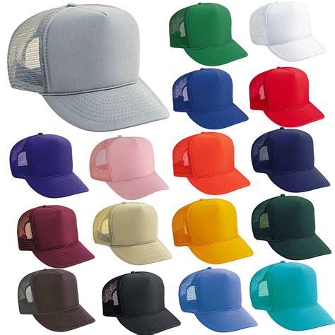 bulk lot of 100 trucker hats wholesale mesh caps
