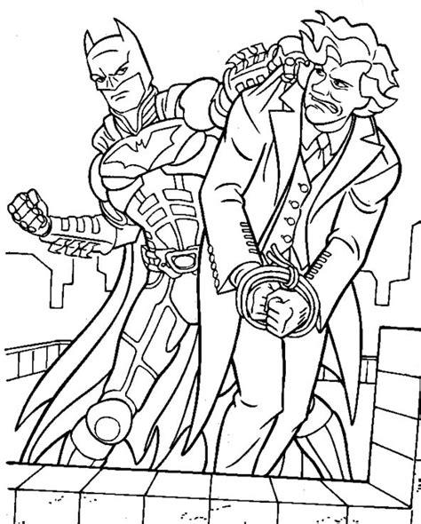batman enemies coloring pages batman manages to capture villains coloring pages batman