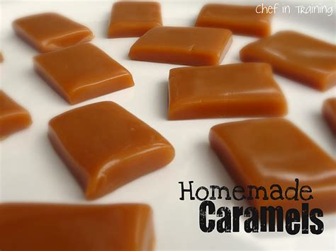 Handmade Caramels - caramels chef in