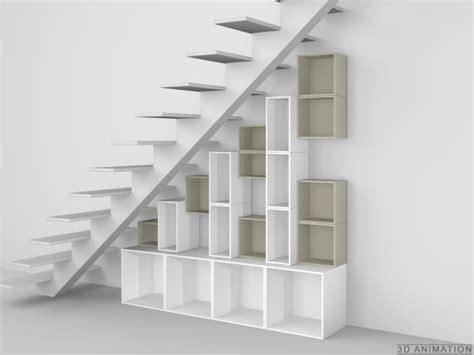 etagere sous escalier etag 232 re modulaire sous escalier cubit