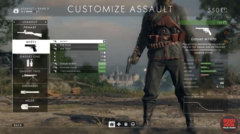 change loadouts  battlefield