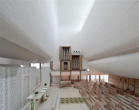 Jorn Utzon by J 248 Rn Utzon Gt Bagsv 230 Rd Church Hic Arquitectura