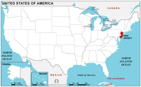 new jersey usa map location new jersey location map location map of new jersey state