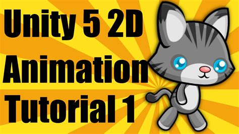 unity tutorial animation character unity 5 2d animation tutorial part 1 youtube