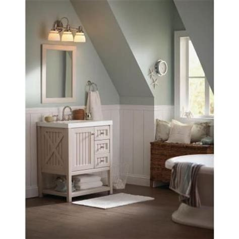 martha stewart bathroom ideas martha stewart living 3 light seal harbor collection vanity light fixture v357pk03 at the home