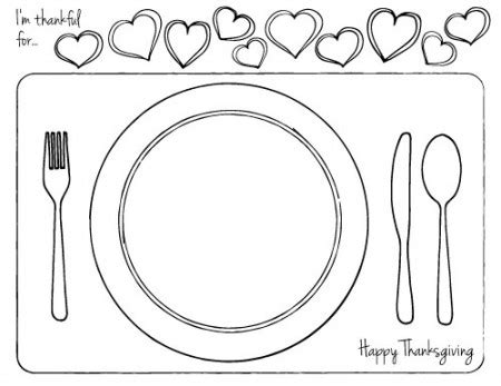 56 Table Setting Placemat Template Kids Table Placemats Place Mat Table Setting Montessori Placemat Template