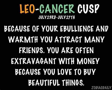 leo cancer cusp lol pinterest