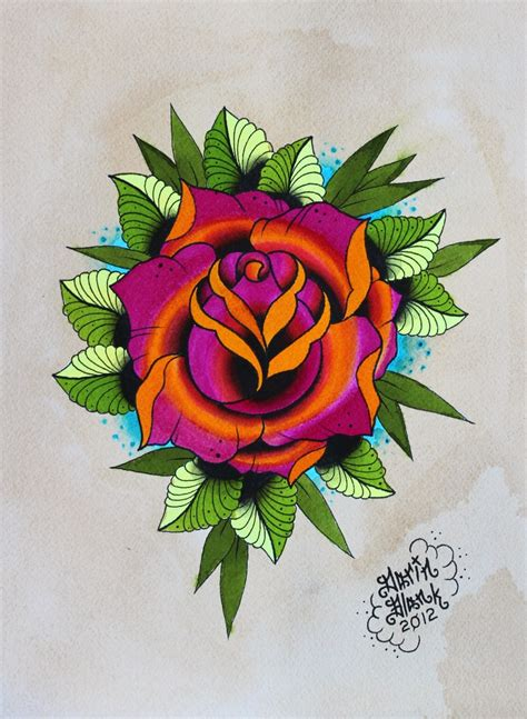 tattoo flash rose 17 best ideas about traditional tattoos on