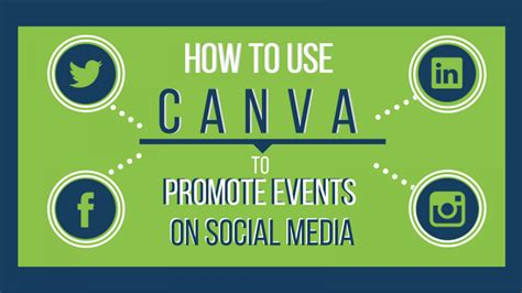 canva social media how to use canva to promote events on social media