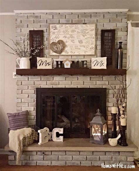 a chimney decor and functional item quickinfoway 14 cozy fall fireplace decor ideas to steal right now