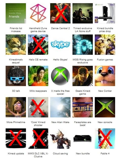 Bingo Xox microsoft press conference wrapup so much kinect with a