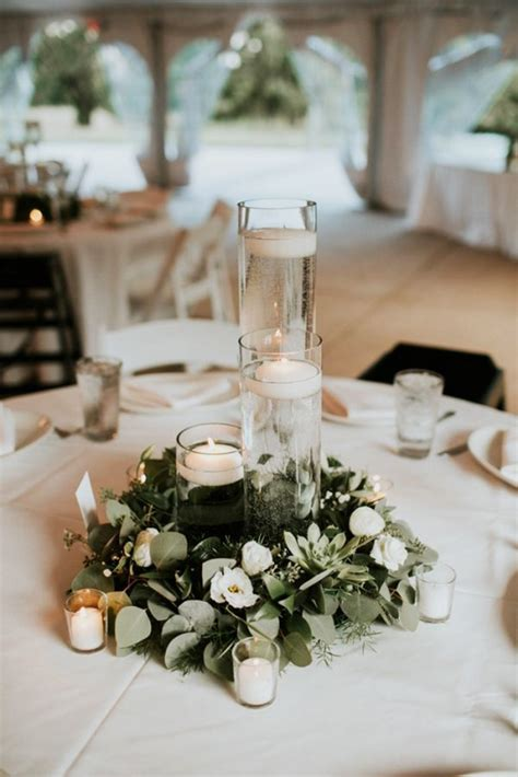 budget friendly wedding trend 27 greenery wedding decor